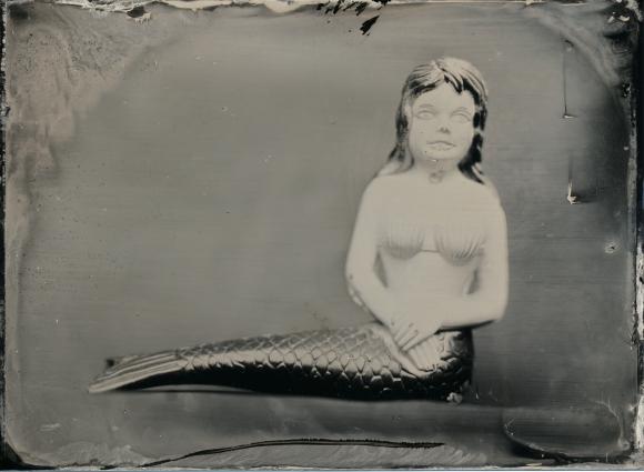 Mermaid - Tintype