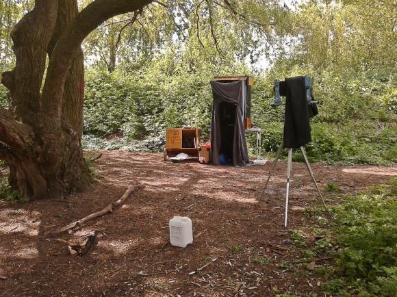 Bike Trailer Darkbox @Hackney Marshes